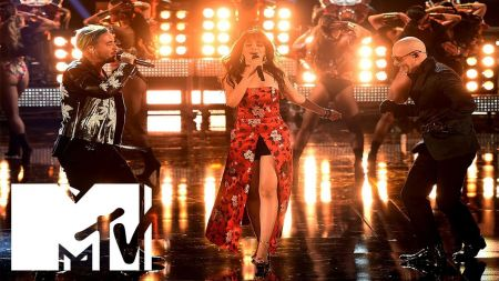 Watch Camila Cabello, Pitbull & J Balvin perform 'Hey Ma' at the MTV Movie & TV Awards