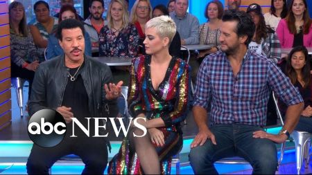 Watch new American Idol judges' first appearance on 'Good Morning America'