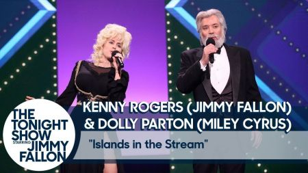 Watch: Miley Cyrus and Jimmy Fallon cover Kenny Rogers and Dolly Parton's 'Islands in the Stream'