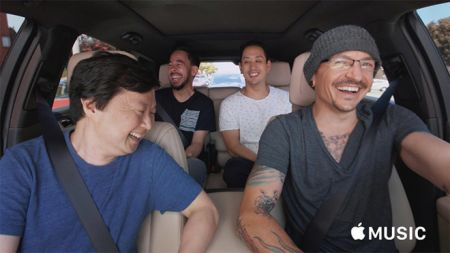 Linkin Park's 'Carpool Karaoke' episode featuring Chester Bennington to stream on Facebook next week