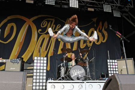 The Darkness are flying high on their new album 'Pinewood Smile'
