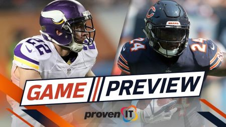 Most memorable moments in the rivalry between the Chicago Bears and Minnesota Vikings