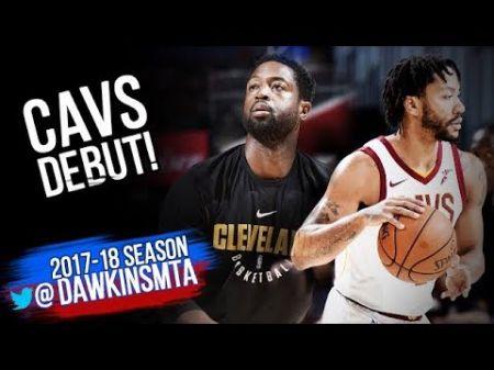 Cleveland Cavaliers name Dwyane Wade starter