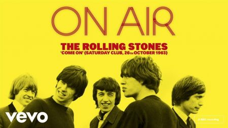 Listen: Rolling Stones post live version of debut single 'Come On' from new 'On Air' set