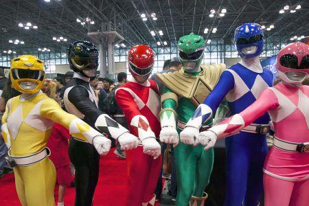 Power Rangers Morphin Across North America For Epic Live
