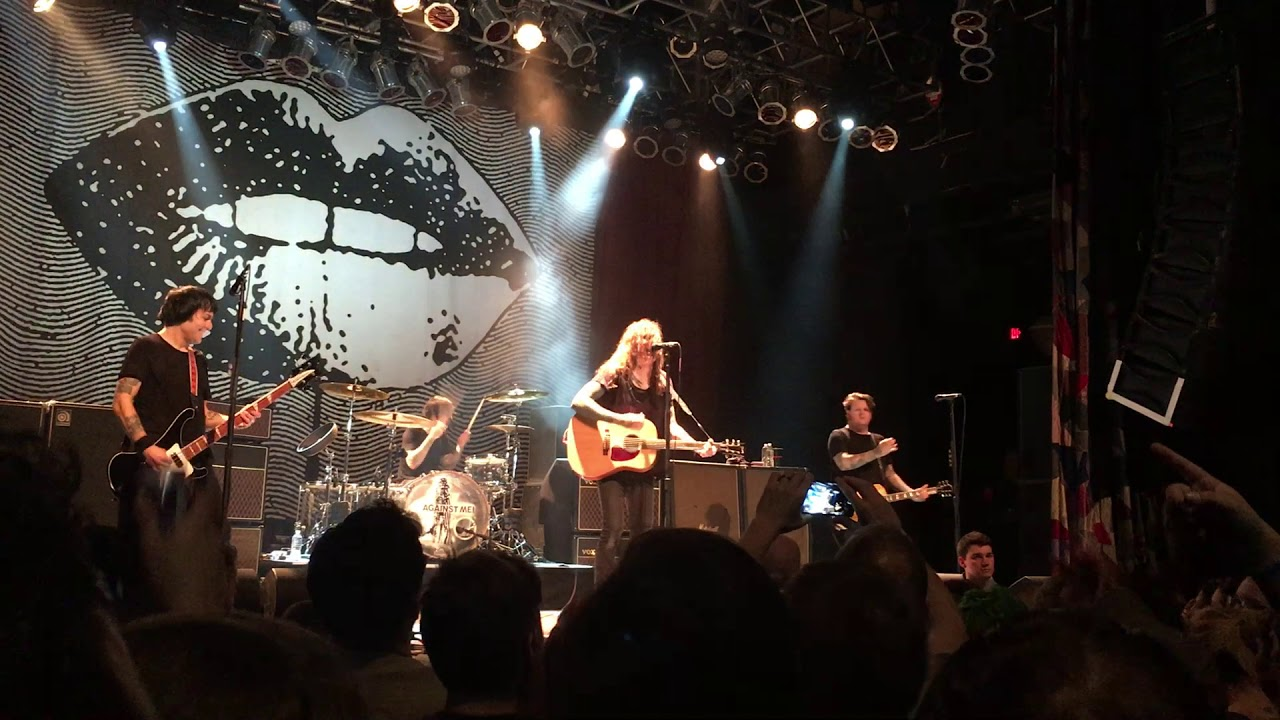 Against Me Pay Homage To Tom Petty At Cleveland Concert Axs
