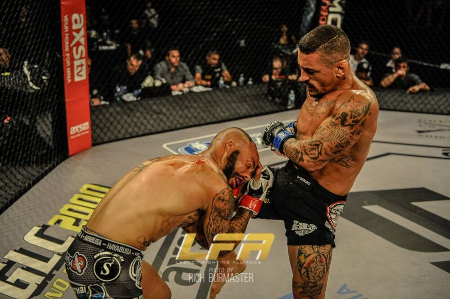 Photo credit Rich Burmaster/Legacy Fighting Alliance