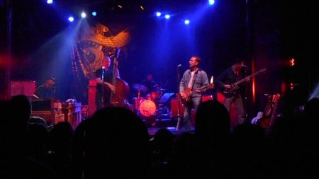 JD McPherson played a full-throttle show at The Observatory