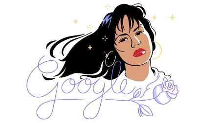 Animated Google-Doodle honors anniversary of Selena's debut album