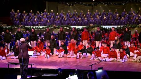 Colorado Children's Chorale planning Christmas and Spring events at Boettcher Concert Hall
