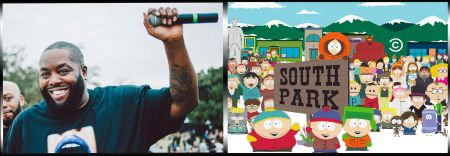 Watch: Killer Mike raps in defense of elder rights on 'South Park'