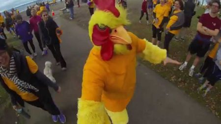 Turkey trots and Thanksgiving parades in Seattle 2017