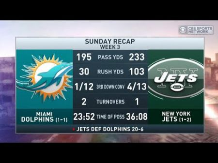 Best games in the rivalry between the Miami Dolphins and New York Jets