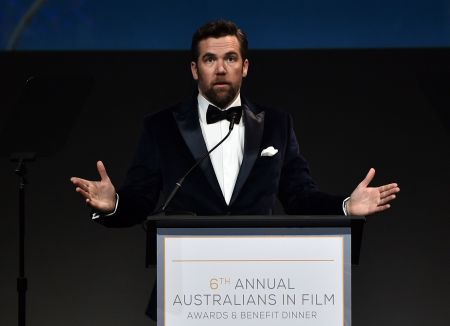 Los Angeles, Calif. - Oct. 18: Patrick Brammal hosts the 6th Annual Australians In Film Awards at NeueHouse Hollywood.
