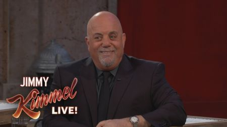 Watch: Billy Joel announces extension of Madison Square Garden residency into 2018 on 'Jimmy Kimmel Live'