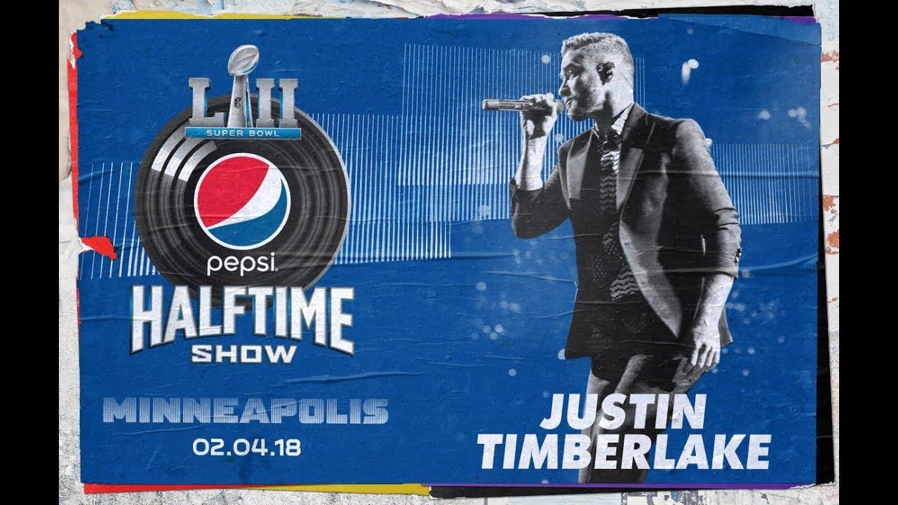 Justin Timberlake named Super Bowl LII Halftime Show performer