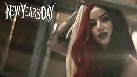 New Years Day release music video for 'Gangsta'