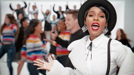 Janelle Monáe stars in holiday campaign for the Gap