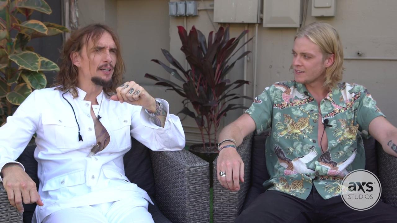 Watch The Darkness get candid about new songs, album and 2018 tour