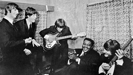 Fats Domino and The Beatles were mutually fond of each other