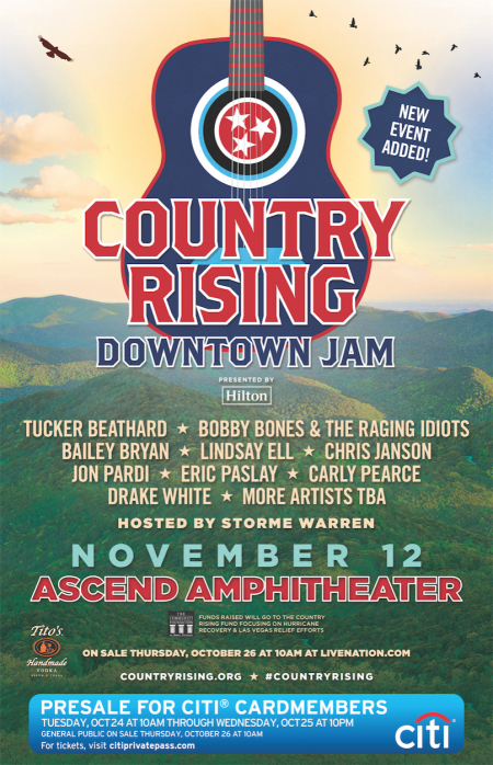 Country Rising: Downtown Jam