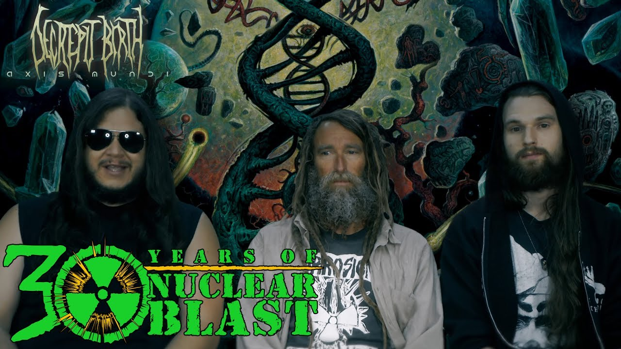 Decrepit Birth drop off tour with The Black Dahlia Murder
