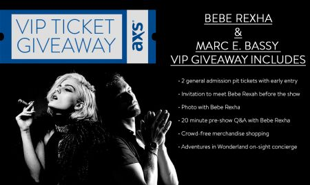 Win a VIP package to Bebe Rexha and Marc E Bassy at Terminal 5 in NYC