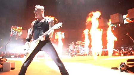 Watch: Metallica play live debut of 'Spit Out the Bone' at record-breaking O2 London gig