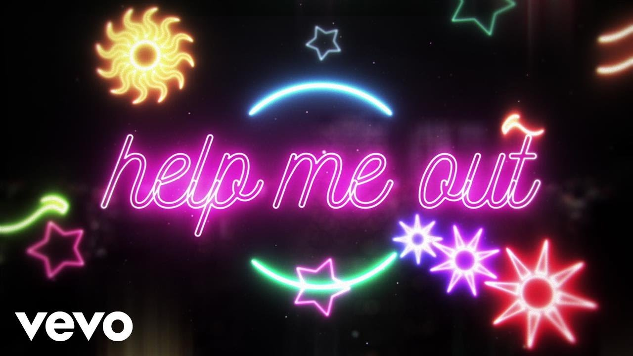 Maroon 5 premieres neon lit lyric video for 'Help Me Out' with Julia Michaels