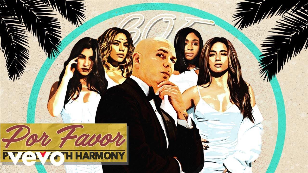 Listen: Pitbull teams up with Fifth Harmony on new single 'Por Favor'