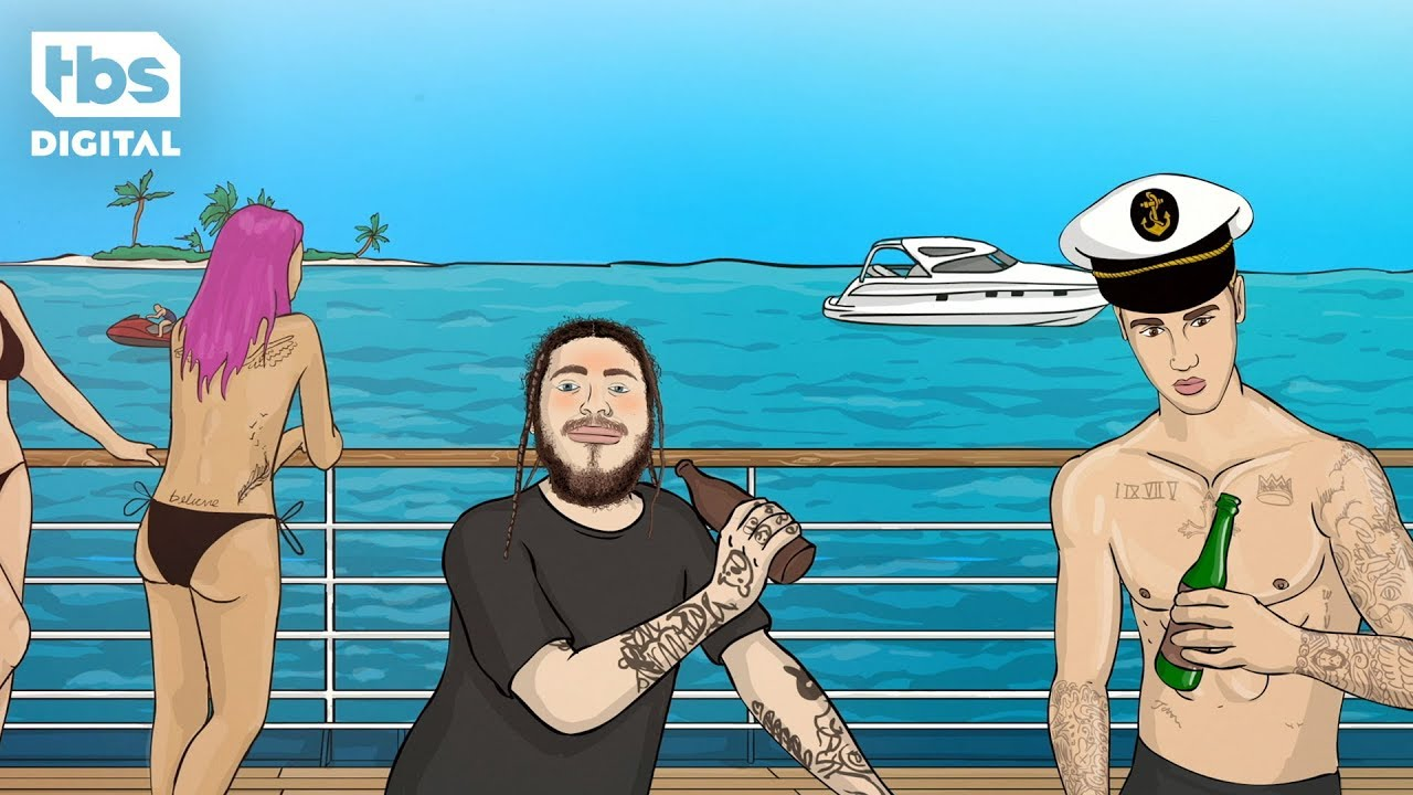 Post Malone shares animated story of his adventure with Justin Bieber for TBS's 'Storyville'