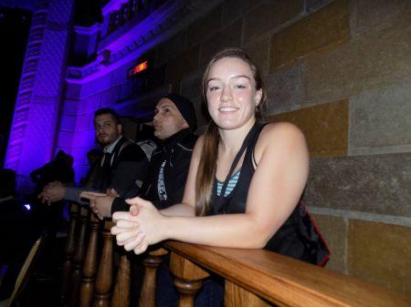Aspen Ladd trains at MMA Gold