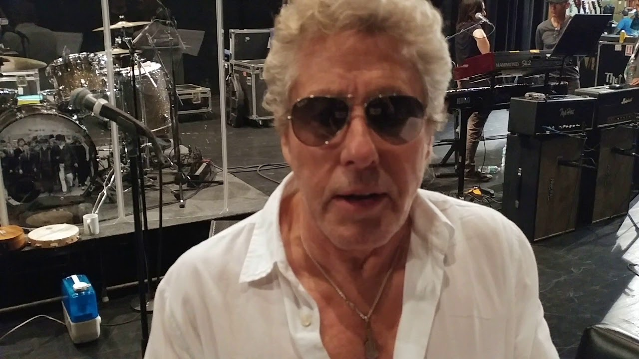 Watch: Roger Daltrey of The Who reveals details of US fall solo tour during band rehearsal in Florida
