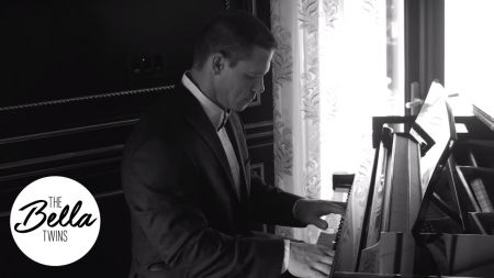 WWE superstar John Cena plays Pixies 'Where is My Mind' on piano