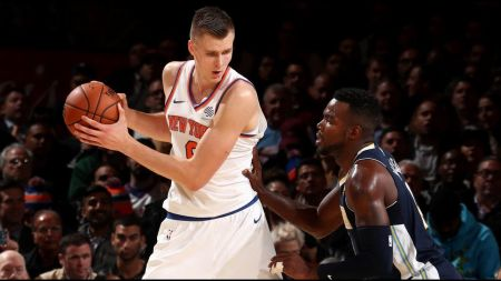 Kristaps Porzingis playing at MVP level for New York Knicks