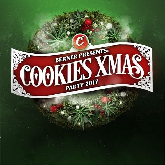 Berner Presents: Cookies Xmas Party 2017 | The Warfield