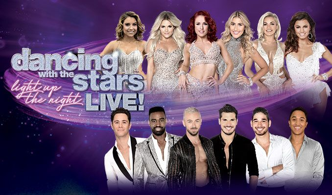 Image result for Dancing with the Stars 2018 tour