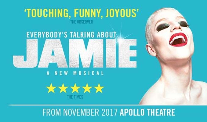 Everybody's Talking About Jamie - Booking until 6 October 2018  tickets at Apollo Theatre in London