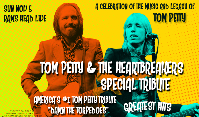 Tom Petty Tribute with Damn The Torpedoes tickets at Rams Head Live! in Baltimore