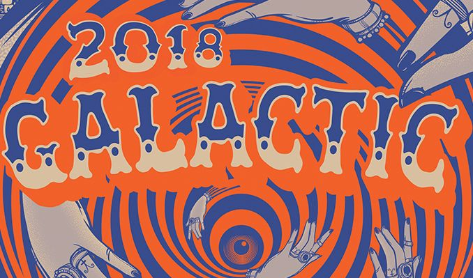 Galactic tickets at The Warfield in San Francisco
