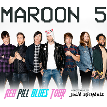 Maroon 5 red pill blues tour 2018 tickets in kansas city at sprint maroon 5 red pill blues tour 2018 tickets at sprint center in kansas city m4hsunfo