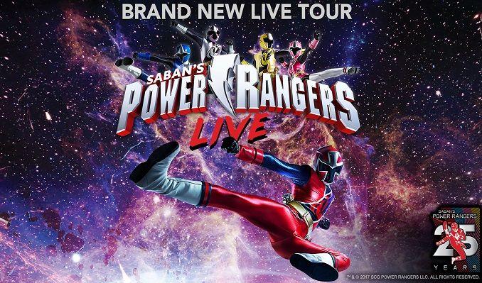 Power Rangers tickets at Abraham Chavez Theatre, El Paso