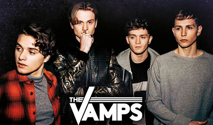 The Vamps tickets at Bournemouth International Centre, Bournemouth