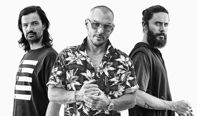 Thirty Seconds To Mars tickets at The O2, London
