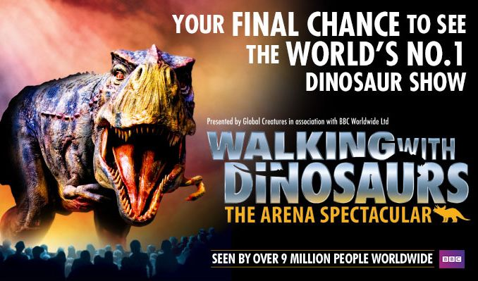 Walking with Dinosaurs tickets at The O2, London