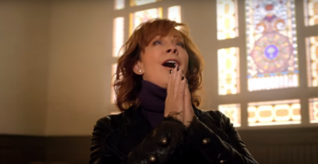 "Reba releases the powerful music video for ""Back to God."""
