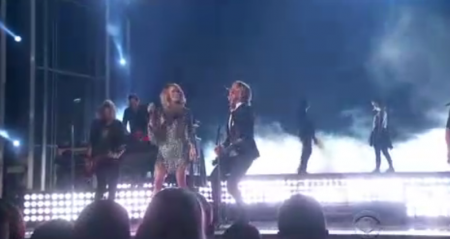Carrie Underwood & Keith Urban at the 52nd annual ACM Awards