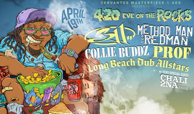 311 / Method Man & Redman tickets at Red Rocks Amphitheatre in Morrison