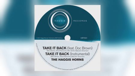 The Haggis Horns play old-school funk and soul on 'One of These Days'