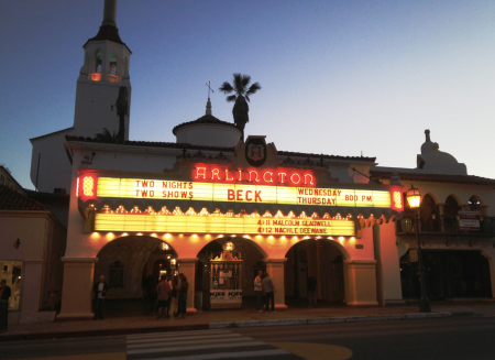 November guide to the Arlington Theatre in Santa Barbara